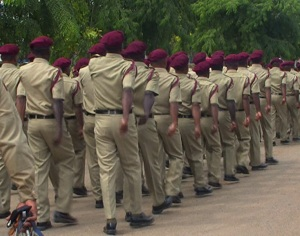 Servicemen Pass Out of Bomana Correctional Service Institute.