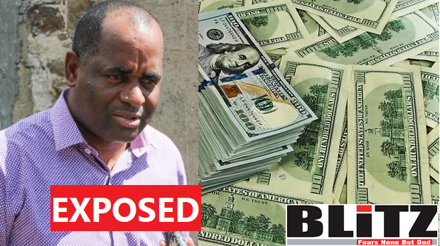 Dominica PM Rosevelt\'s corruption exposed by US authorities.