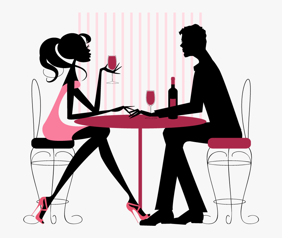 Couple Dinner Png.