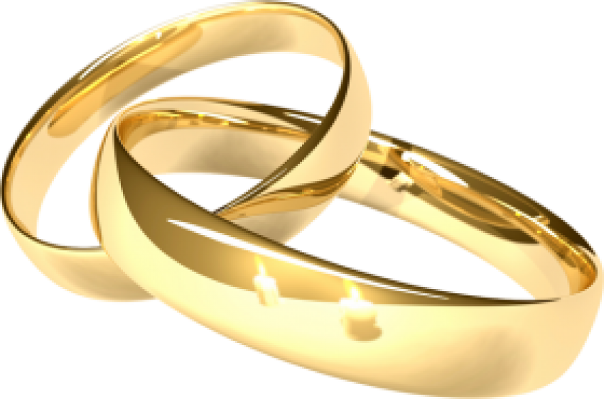Wedding Ring Clipart PNG HD Couple (13).