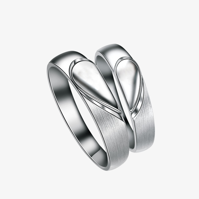 Couple Ring, 999 Sterling Silver, 999 PN #58929.