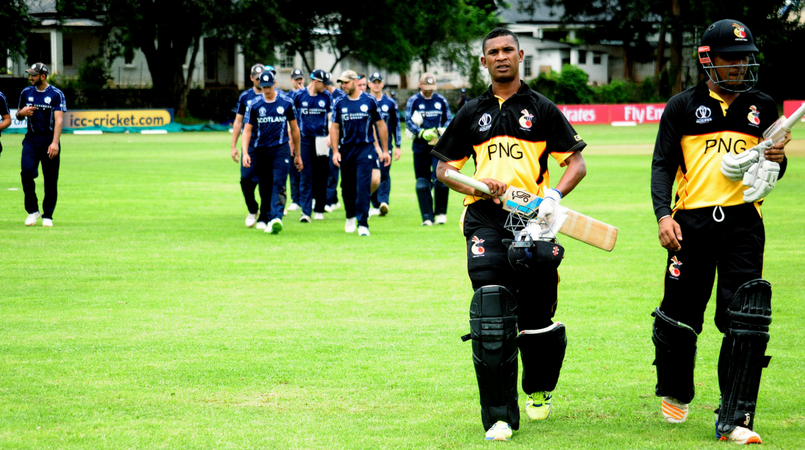 Massive blow for PNG cricket team.
