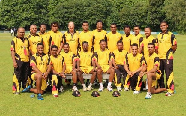 Sport: PNG cricket team hoping to make world T20\'s.