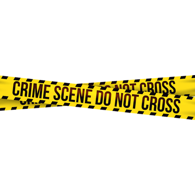 Crime Scene Do Not Cross transparent PNG.