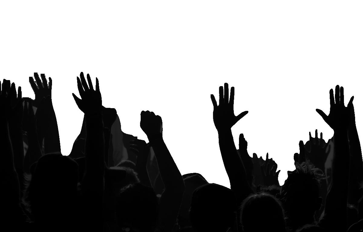 Crowd PNG Images Transparent Background.