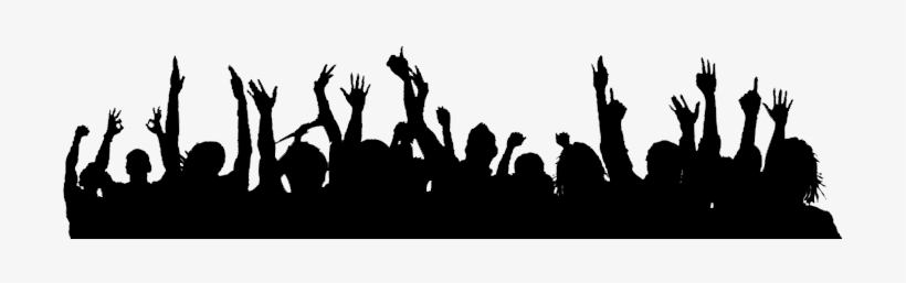 Crowd Silhouette Png.