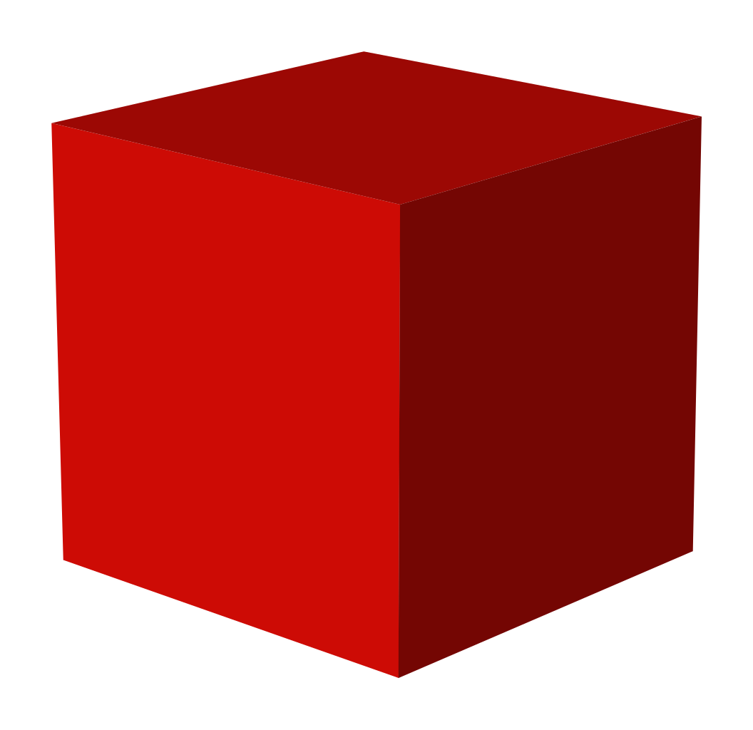 Red Box Png, 3D Cube Picture #47052.