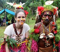 Masters student helps preserve PNG culture.