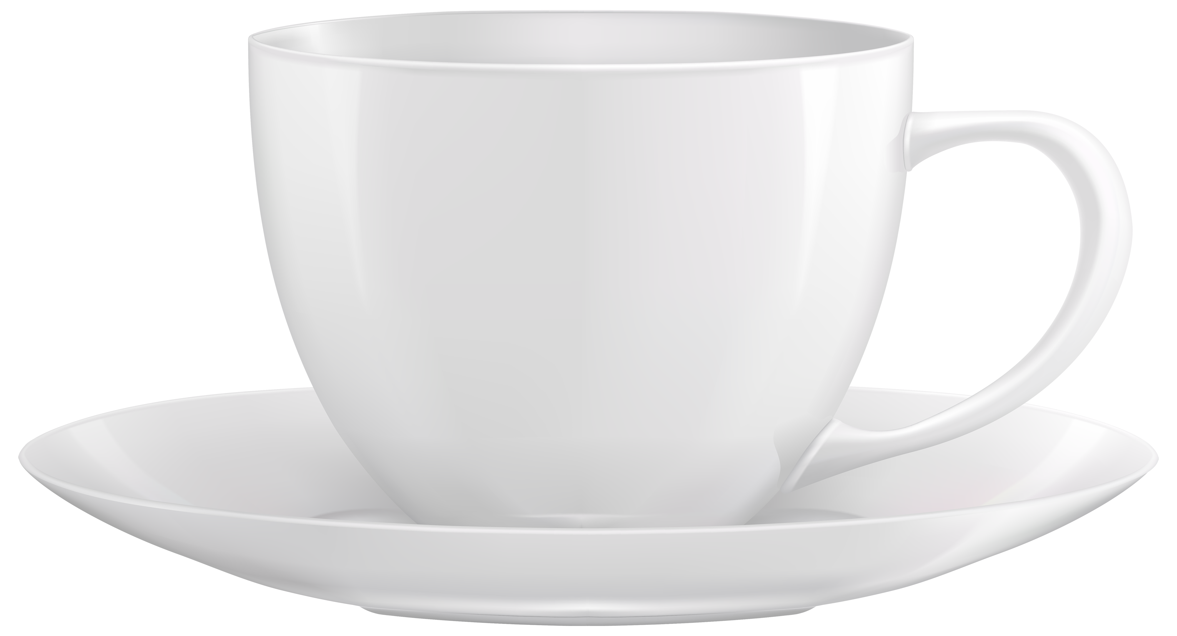 White Cup PNG Clipart.