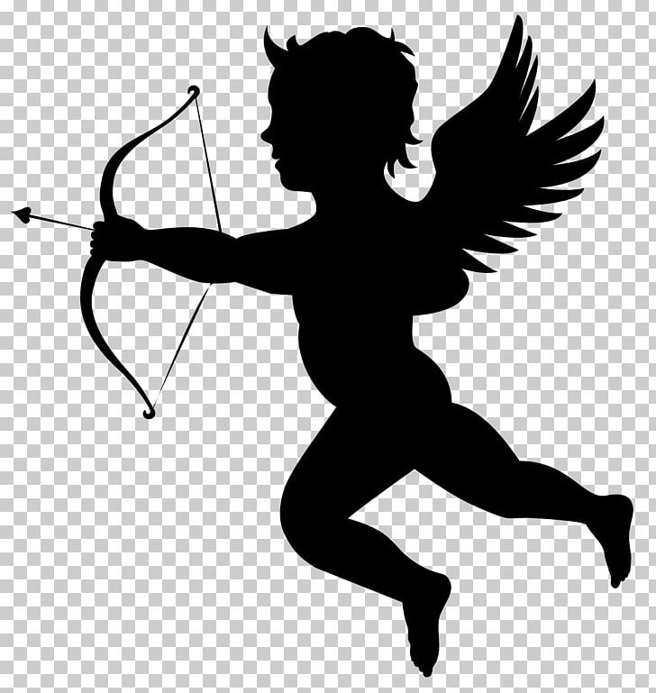 Cupid Arrow Valentines Day Illustration PNG, Clipart, Angel.