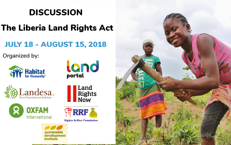 The Liberia Land Rights Act.