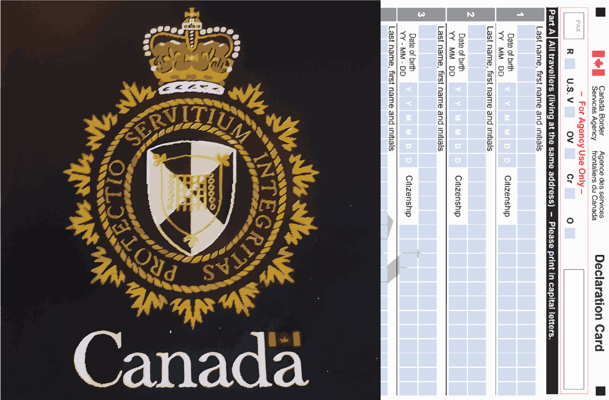 The Complete Guide to Filling Out the Canada Customs.