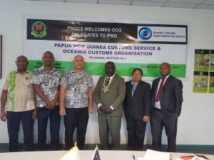 Bilateral Meeting between PNG Customs Service and OCO.