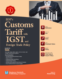 BDPS Customs Tariff with IGST and Foreign Trade Policy.