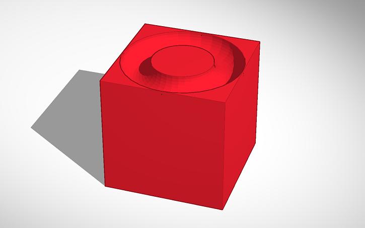 3D design circle maker cut out.