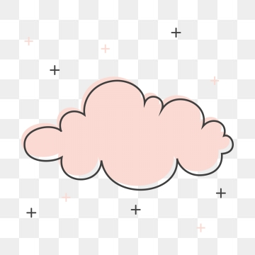 Cute Clouds PNG Images.