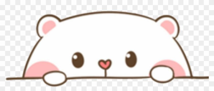 cute #bear #sticker #kawaii #pink #png #mochi.