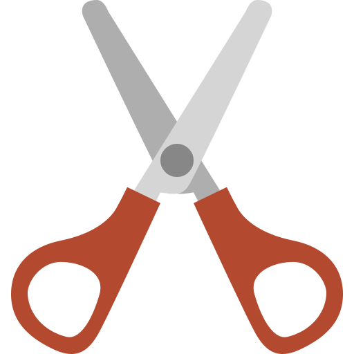 Cut, cutter, cutting, hair, scissor, scissors, sclssors icon.