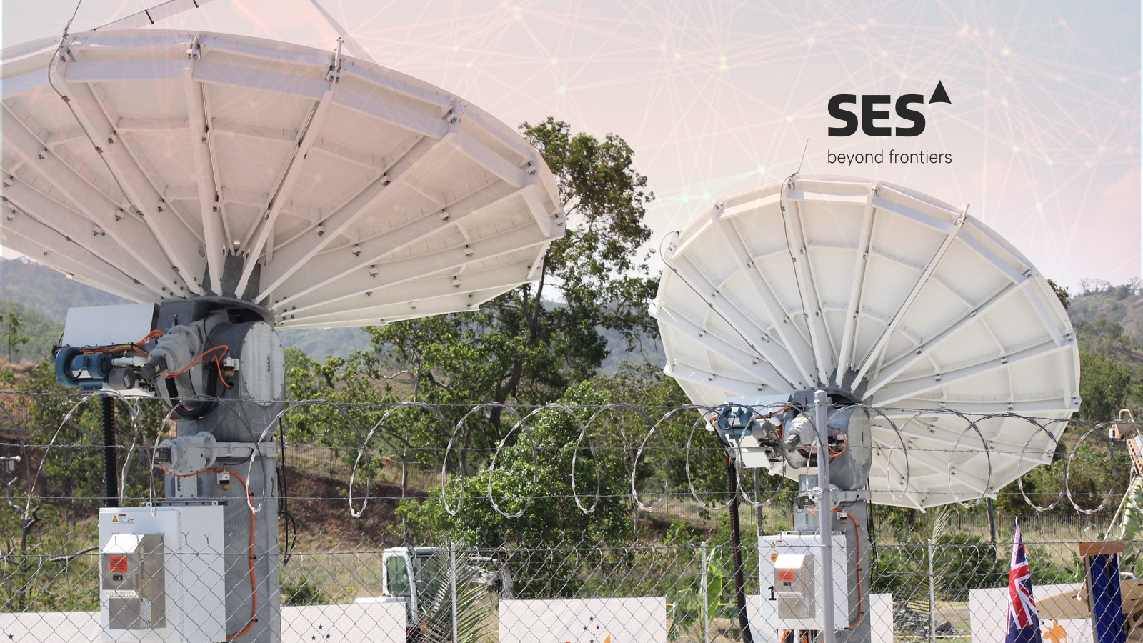 SES Networks and PNG DataCO Restore Connectivity to.