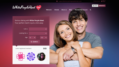 WhereWhitePeopleMeet: Finally, a dating site just for white.