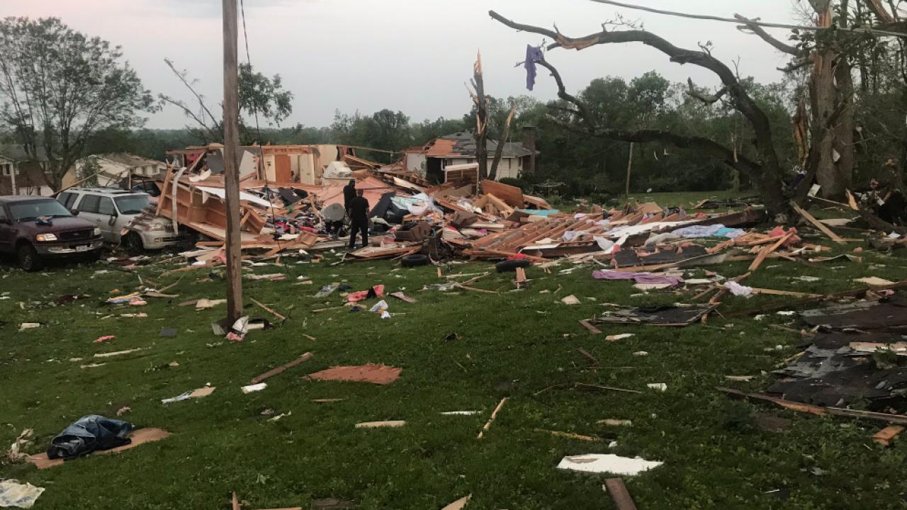 How to help Dayton, Ohio tornado victims.