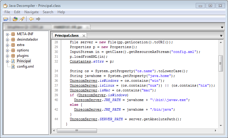 Native Java Bytecode Debugging without Source Code ».