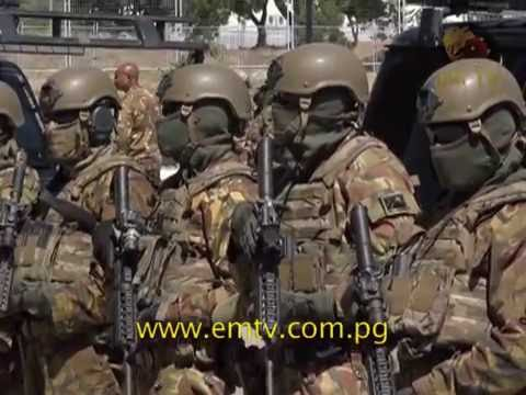 PNG Defence Special Force Prepare for 2018 APEC.