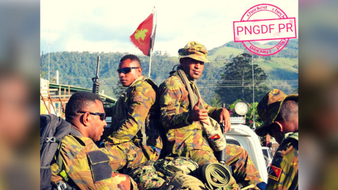 PNG Defence Force Recruitment 2019/2020 Form.