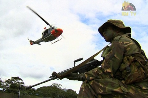 PNG Defence Force ReLooks at Height Requirements for New.