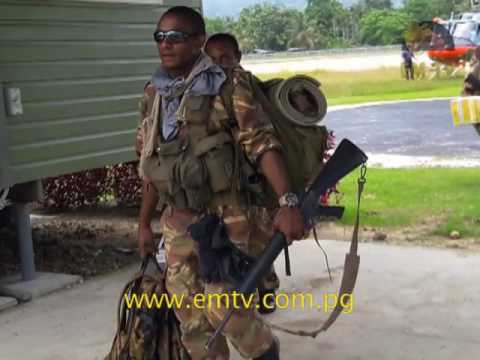 PNG Defence force will be deployed to Hela Province tomorrow.