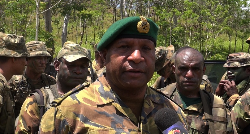 THE PNG DEFENCE FORCE WHITE PAPER & THE BLUE PRINT.