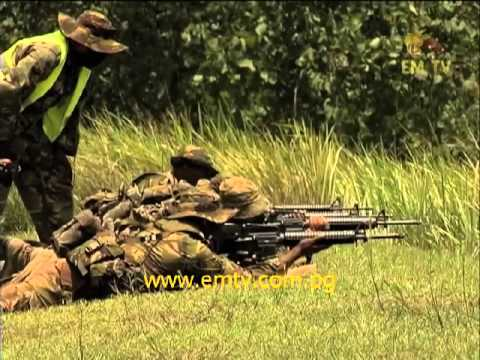 PNG Defence Force Shooting Competition.