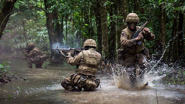 The British Army homepage.