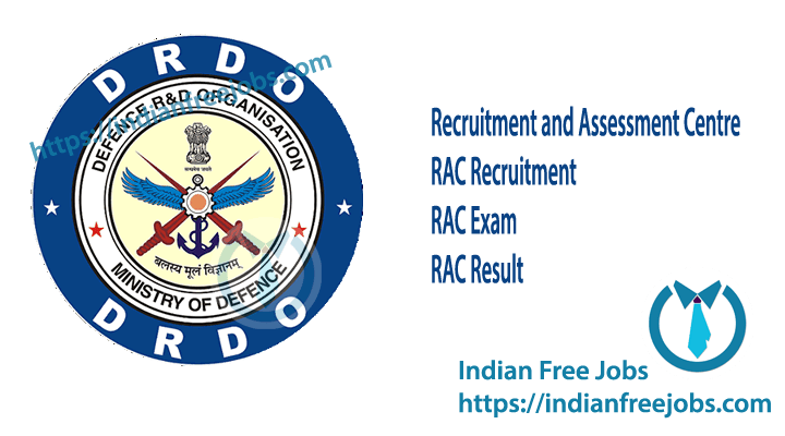 RAC Recruitment 2019.