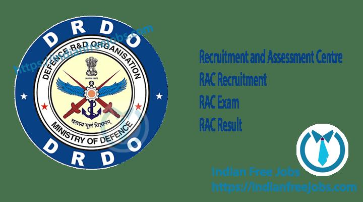 RAC Recruitment 2019.