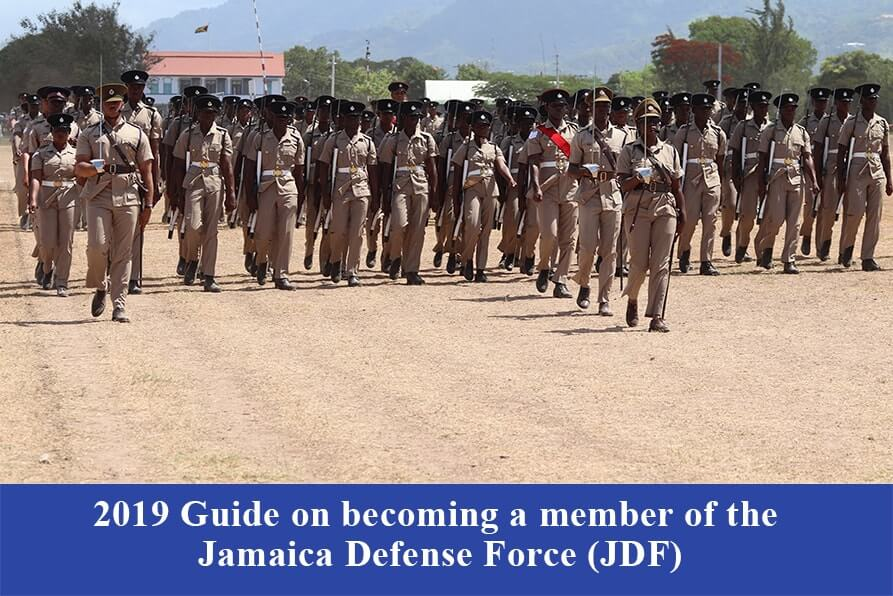 2019 Guide on becoming a member of the Jamaica Defense Force.