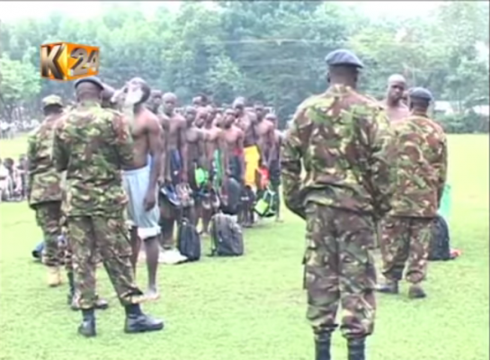 Kakamega youth miss out on KDF recruitment due to physical scars.
