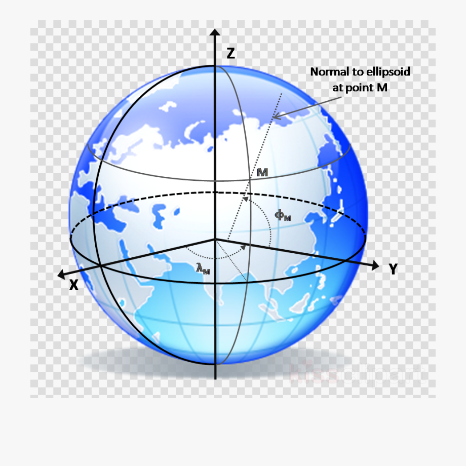 Globe Asia Clipart Globe Earth Geodesy , Png Download.