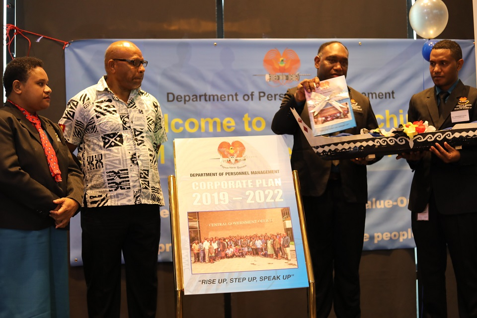 DPM LAUNCHES 4 YEAR CORPORATE PLAN.