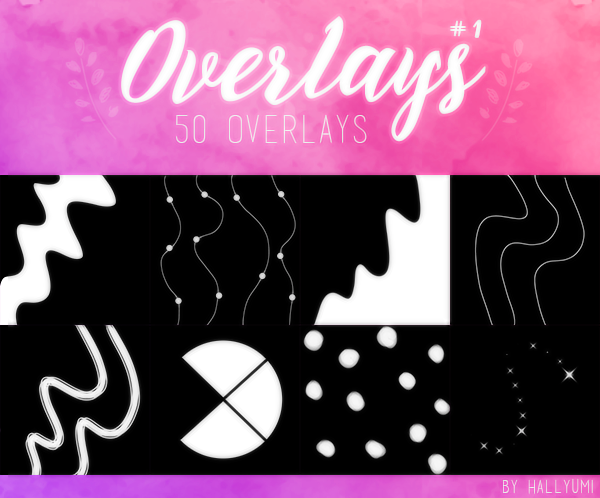 OVERLAYS: Random #1 by Hallyumi on DeviantArt.