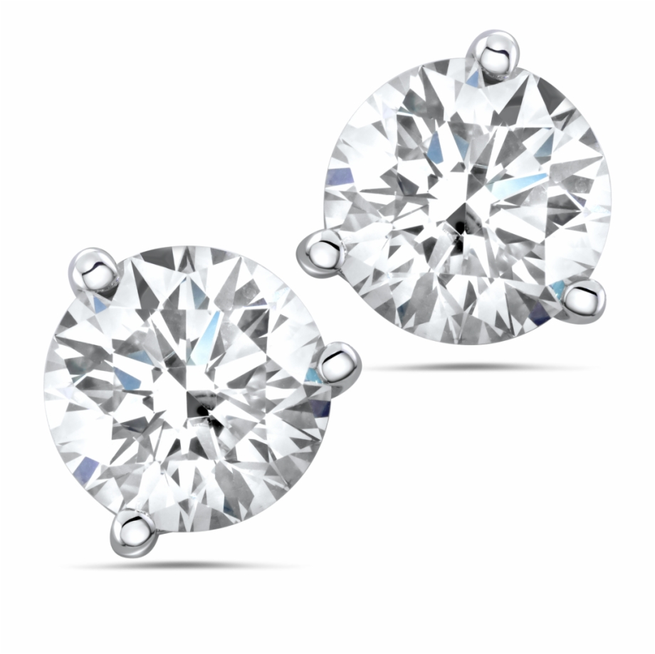 Diamond Earrings Png Transparent Background.