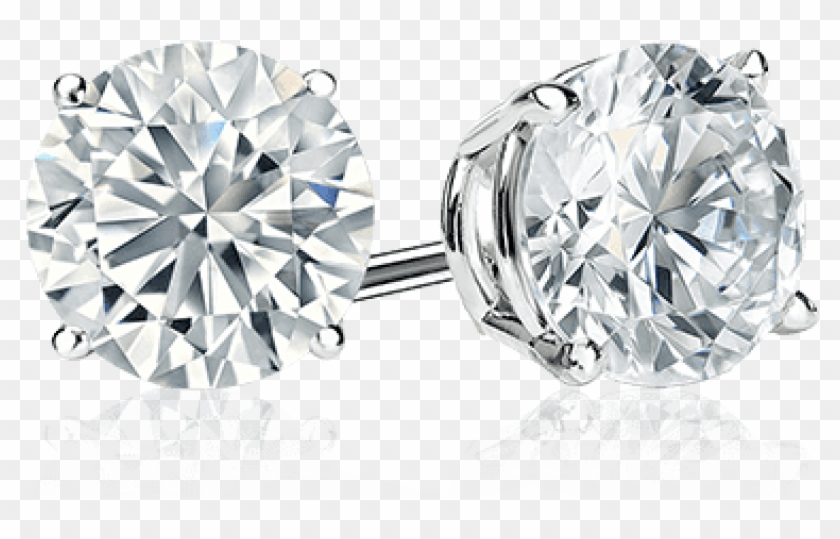 Free Png Download Diamond Stud Earrings Png Images.