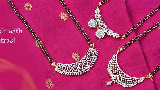 10 Different Styles Diamond Mangalsutra.