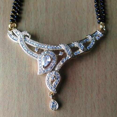 Beautiful Design American Diamond Mangalsutra.