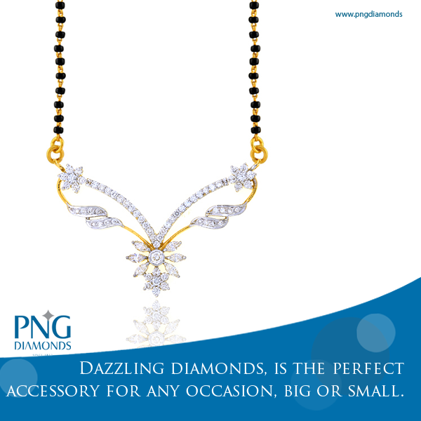 Pin by PNG diamonds on Mangalsutra.