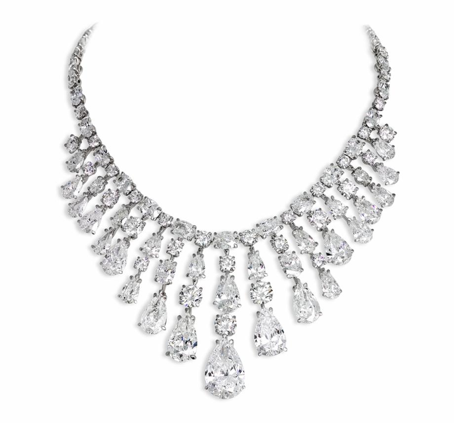 Diamond Necklace Png Transparent , Png Download.