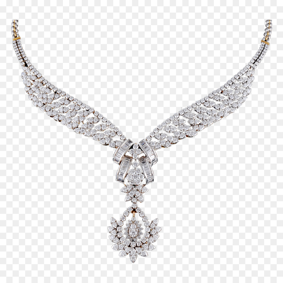 Download Free png Diamond Necklace Earring Charms & Pendants.
