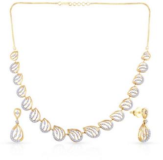 Mine Diamond Necklace Set Nsuink11803.