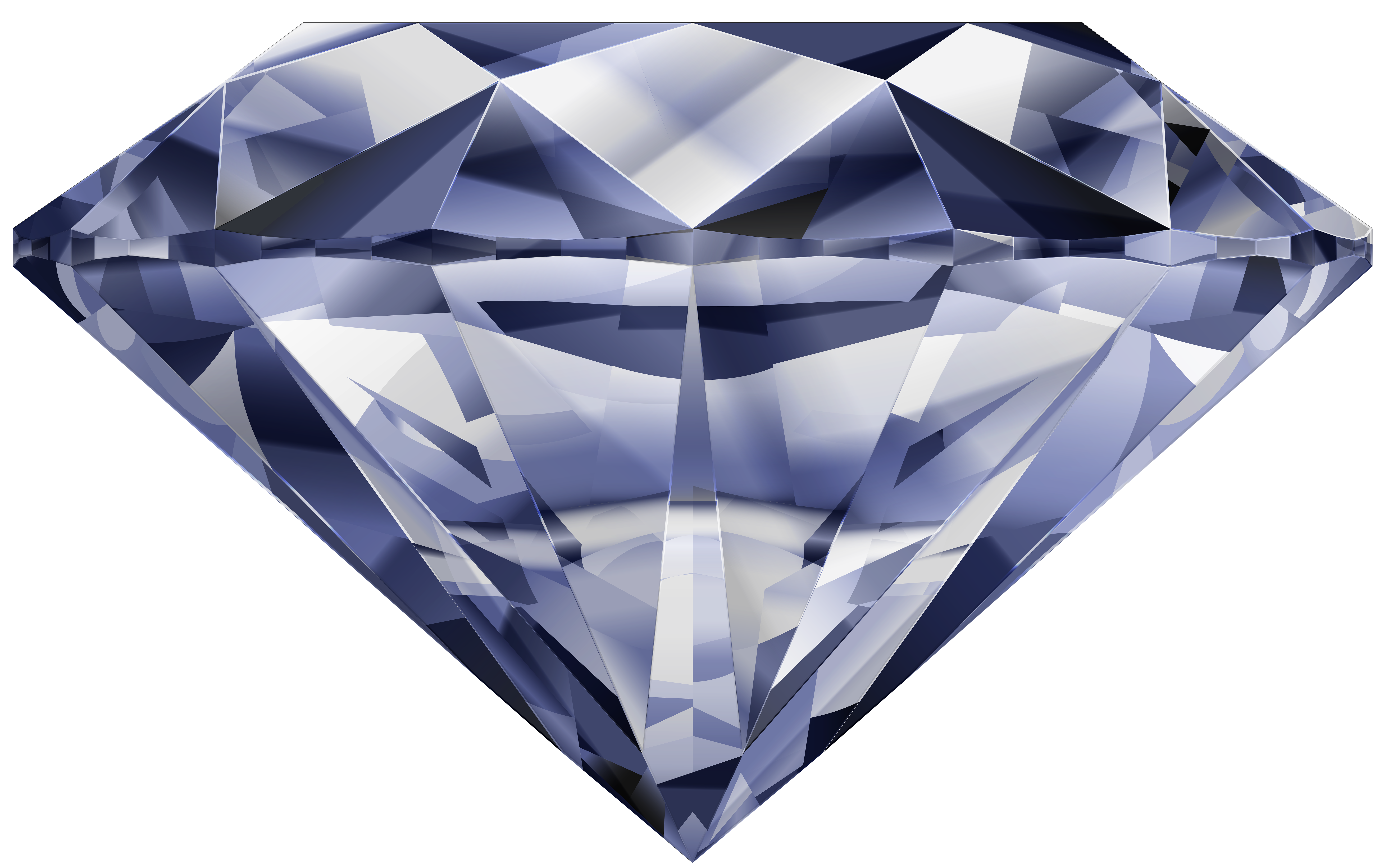 Diamond PNG Clip Art Image.