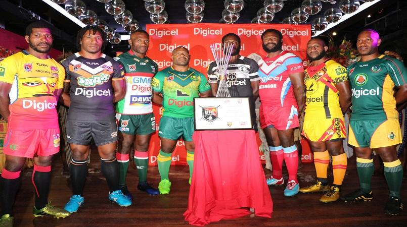 Digicel Cup 2017 season launched.